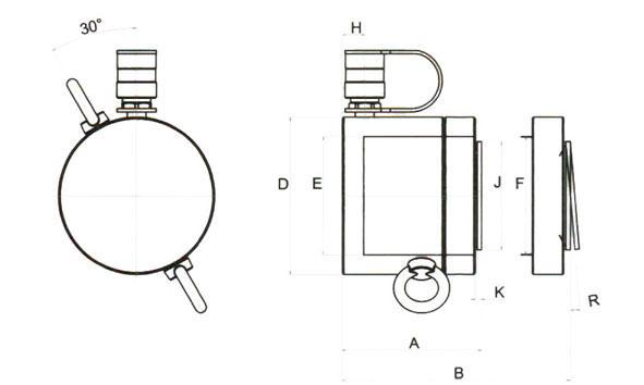 液压千斤顶-美国埃米顿手动图片